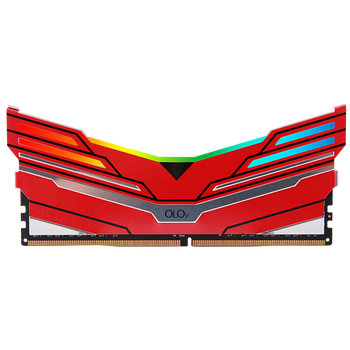 Taiwan Factory OLOY brand DDR4 8GB 16GB 3200MHZ 3600MHz rams with LED Light desktop memory Red, Black and Blue.
