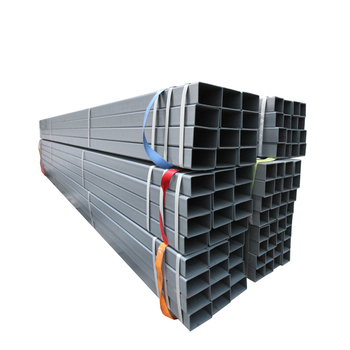 GP pipe square and rectangular steel welded galvanized tube