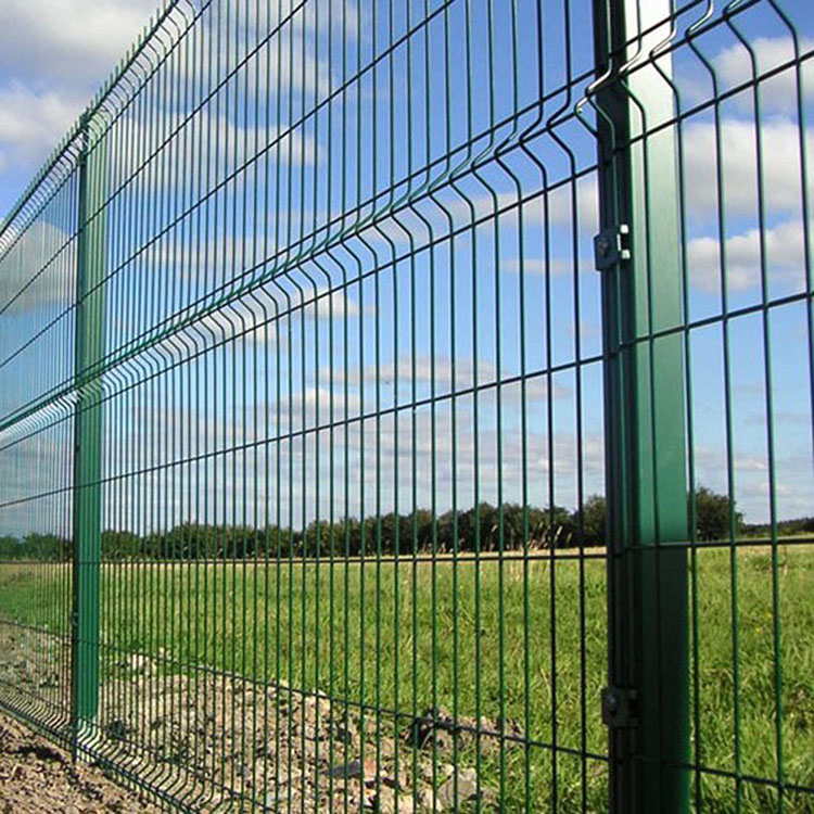 Germany powder coated 656 868 double rod fence panel double wire fence panels