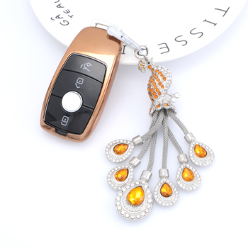 Luxury Smart TPU Car Key Shell Car Key Cover For Benz Car Key Bag