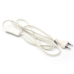 Custom european floor lamp mini retractable extension retractable power cord plug electrical plug for people