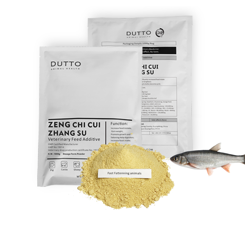 DUTTO Manufacturer feed additives vitamin mineral premix for fish