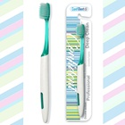 Africa custom handle receding gums suree plastic sustainable manual toothbrush for adult