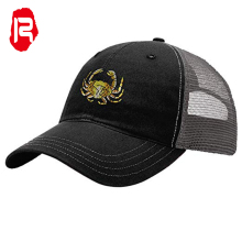Unisex Animal Borduren Patch Baseball Trucker <span class=keywords><strong>Hoed</strong></span>, Vlakte Mesh Gorra Animales