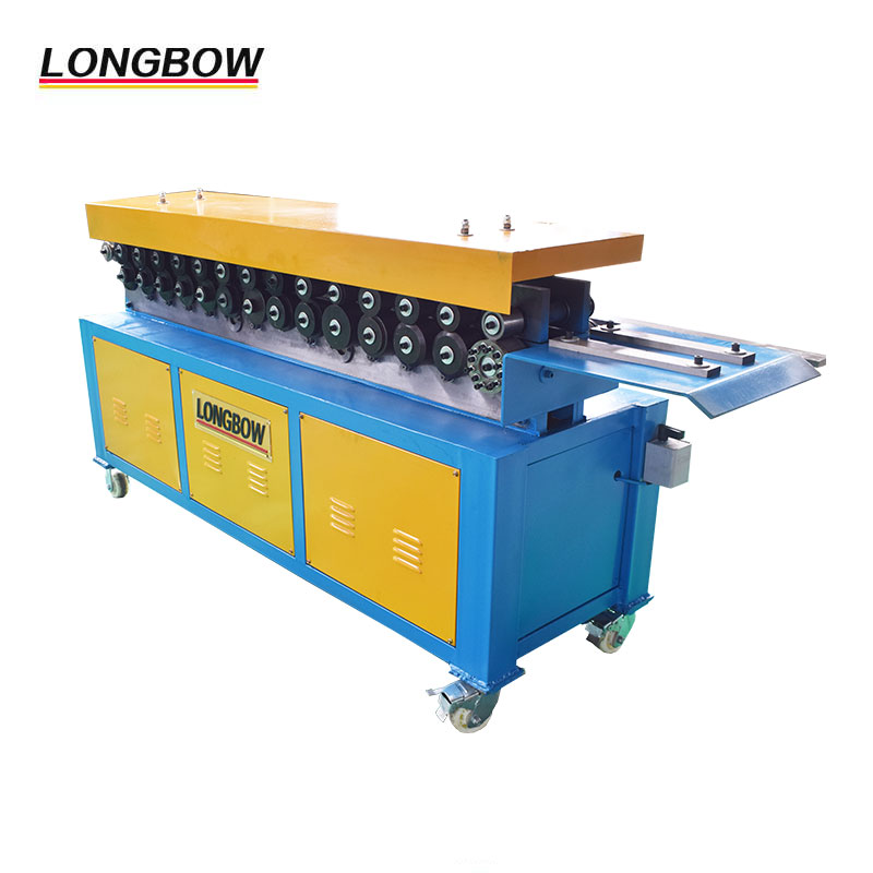 Hvac duct tdf flange forming machine / clip making machine