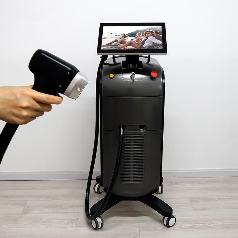 1200W Diode Laser 755+808+1064nm Alma Laser Soprano Ice Price for Hair Removal