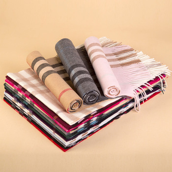 Good quality factory directly 100% wool scarf for men and women with factory direct sale price
