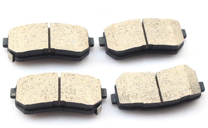 D1593 OE 58101-1RA00  Ceramic  Brake Pad Set for your cars