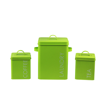 BX hot selling laundry powder storage box and tea coffee canisters