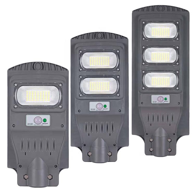 China Fabriek Prijs 40W Alles In Een Zonne-straat Licht Tuin Verlichting 2 Jaar Garantie IP65 Outdoor Smart Led straat Licht