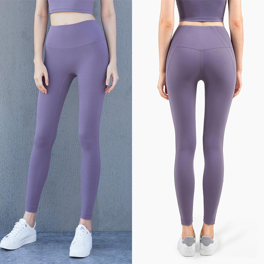 Custom Logo Fitness Leggings Yoga Broek Met Zakken Tummy Controle Workout Broek Voor Vrouwen 4 Way Stretch Joggingpak