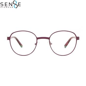 MC92512 red frame glasses latest glasses frames optical for girl fashion glasses