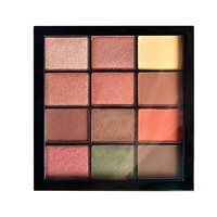 Pop Shimmer Private Label Make Up Eye Shadow Cosmetics Makeup Eyeshadow Palette