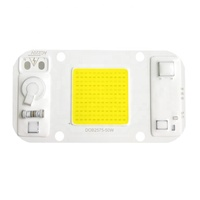 AC 220V 230V 380-840nm full spectrum grow light flip chip DOB led module 20w 30w 50w AC COB LED