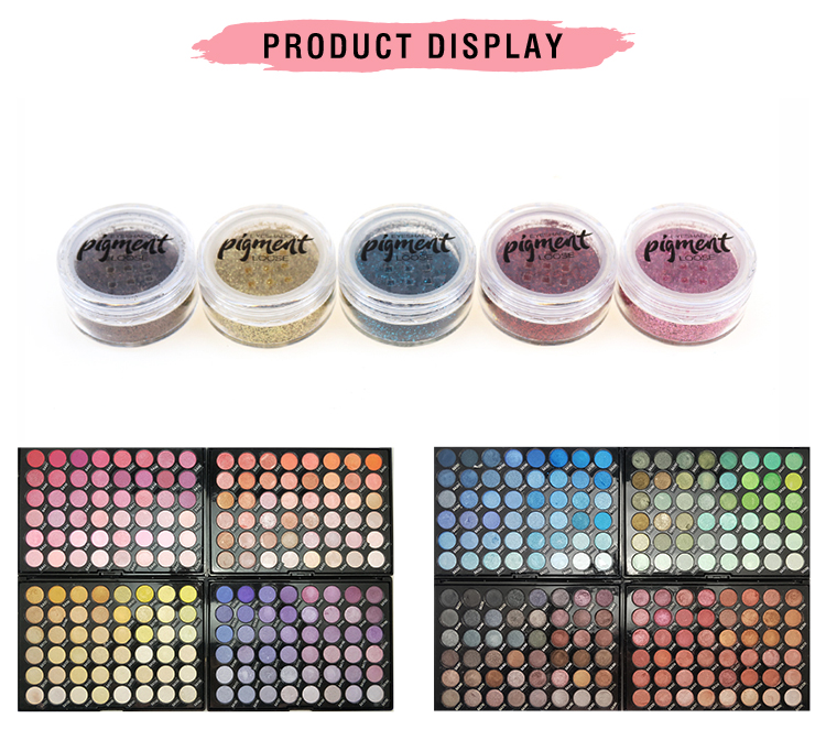 Top Quality Loose Glitter Powder For Eyeshadow Face Cosmetic High Pigment Eye Shadow Glitter