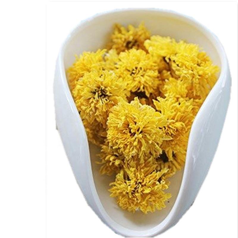 Chinese Handmade Beautiful Artistic Yellow Chrysanthemum Flower Tea - 4uTea | 4uTea.com