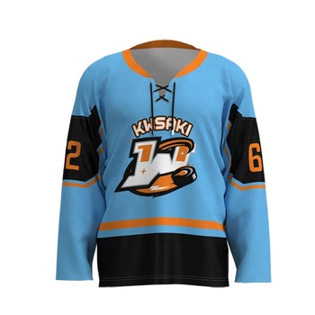 Custom Cheap Fabric 100% Polyester Sublimation reversible Ice Hockey Jersey for Man hockey jerseys