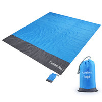 wholesale waterproof portable sand less beach mat picnic blanket outdoor