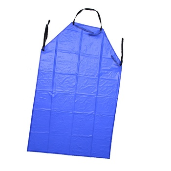 Custom Sizes Size and ldpe/leather/pe/pu/pvc Material logo printed apron