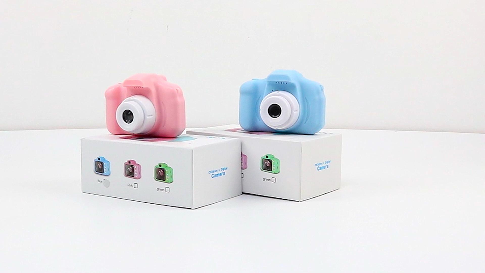 2020 mini dijital 1080p çocuklar fotoğraf kamerası oyuncak kamera için hd 2.0 erkek