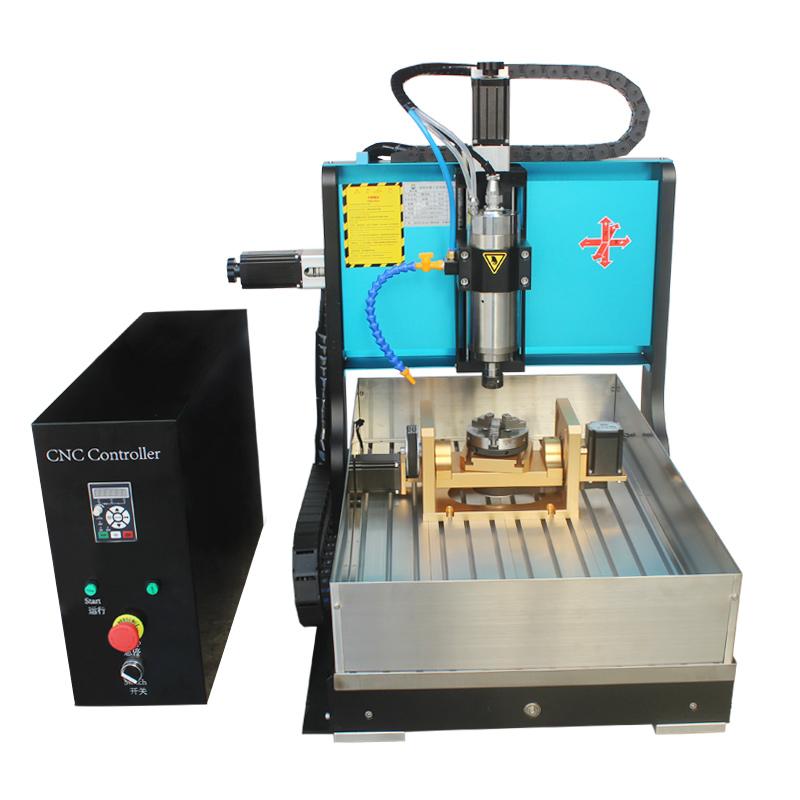 Good Price 6040 1500W Wood Engraving Mini Cnc 5 Axis Cnc Machine
