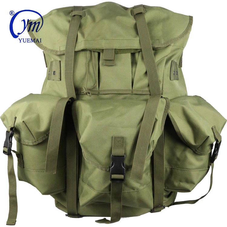 Factory Supply Large Capacity Waterproof Camping Hiking Travel Police Army Tactical Military Alice Bags Backpack With Frame