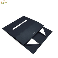 Paper folding box bag flat custom logo package