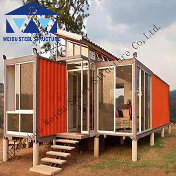 Hot sale large shipping container house for sale