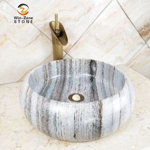 Cheap Price Natural stone Sink Unique Granite Marble Bathroom Wash Basin
