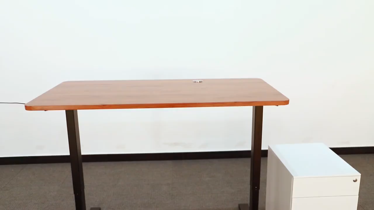 Vansdesk de pie portátil estación de trabajo de oficina moderna ergonómico de oficina de altura ajustable escritorio de la computadora