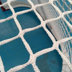 "Sports Official Size Steel Street Hockey Netting, 72"" X 48"" X 30"" Hockey Net"