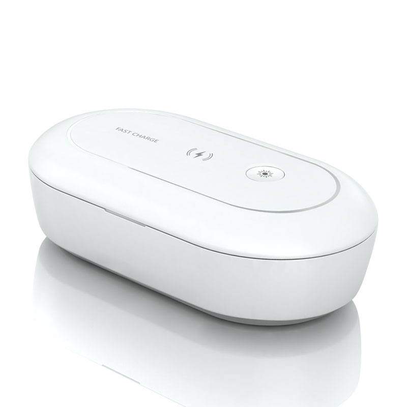 Cellphone wireless charging box UV disinfection sterilization wireless charger