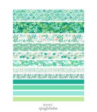 JIANWU 7 шт. или 10 шт./компл. Милая Базовая цветная лента для рукоделия изоляционная лента для школы Канцтовары магазин журнал поставок(Китай)