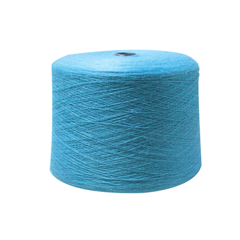 Wholesale dyed cotton blended knitting yarn cotton wool yarn spun silk yarn