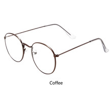 Винтажные круглые очки, оправа, Ретро стиль, женская оправа, прозрачные линзы, очки, фирменный дизайн, gafas De Sol Gafas, очки для очков, Bookworm(Китай)