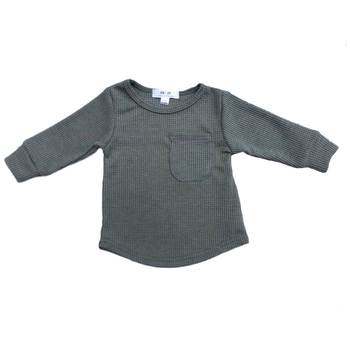casual boys clothing wholesale baby long sleeve t-shirt