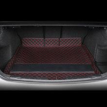 2020 3D роскошный кожаный коврик для багажника автомобиля, грузовая подкладка для bmw G20 3 серии 330 335 325 320 ковер, аксессуары для интерьера, наклейк...(Китай)