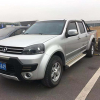Used cars dubai GWM pickup wingle 7 the year of 2015 2T manual transmission cheap