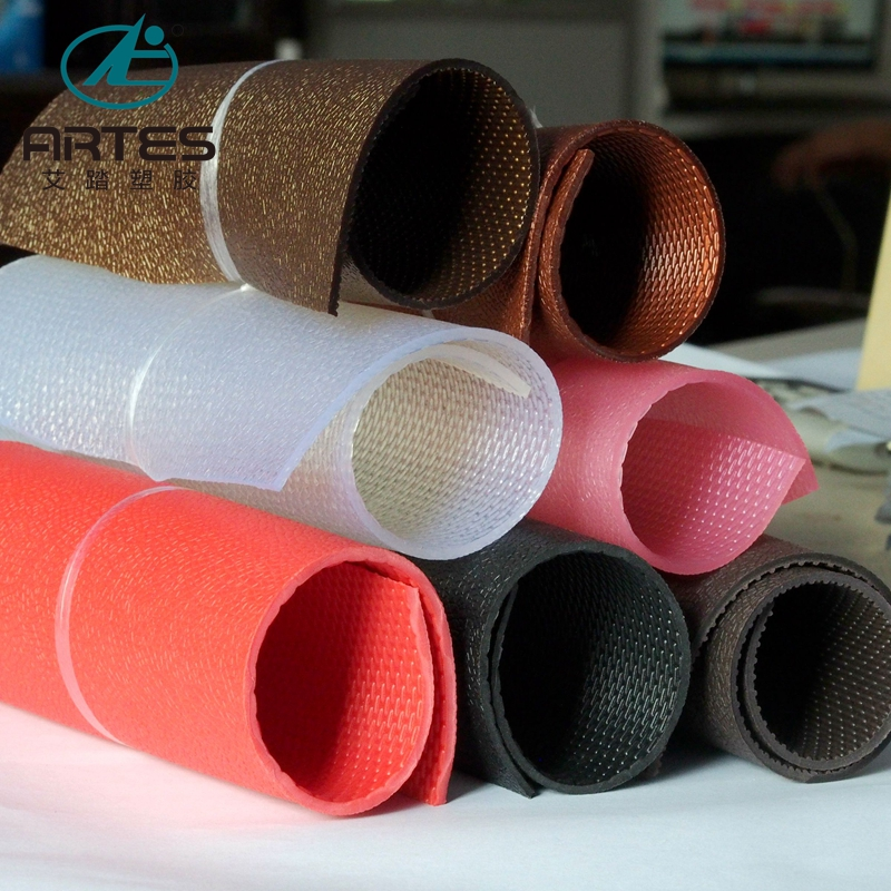 Factory Deals Customized <strong>PVC</strong> anti slip mat roll For Trunk mat