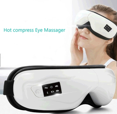 Made in China for adults unique design heat compress ice silk smart facial eyes massager manufacturer