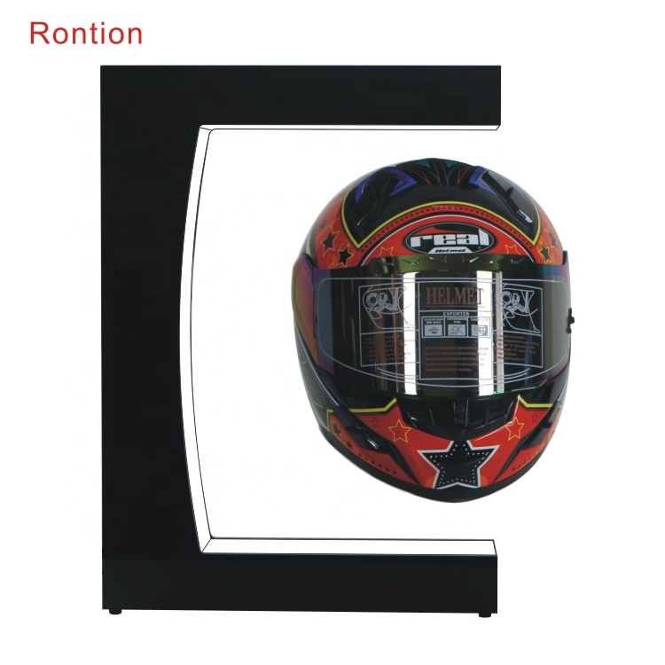 Magnetic floating helmet <strong>display</strong> with Specializing in the production Customized logo