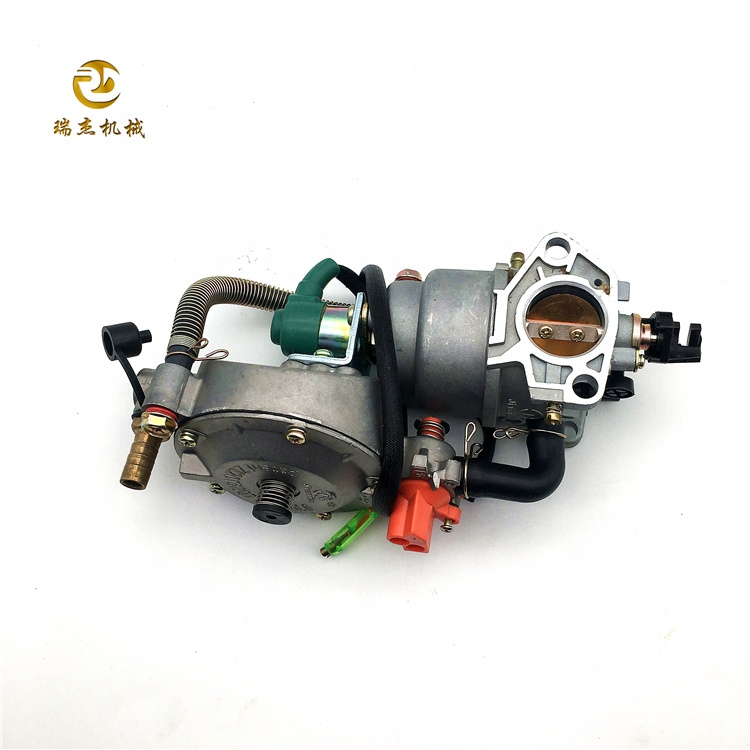 Dual Fuel Carburetor Generator <strong>LPG</strong> <strong>Conversion</strong> For Honda GX390 188F Engine New