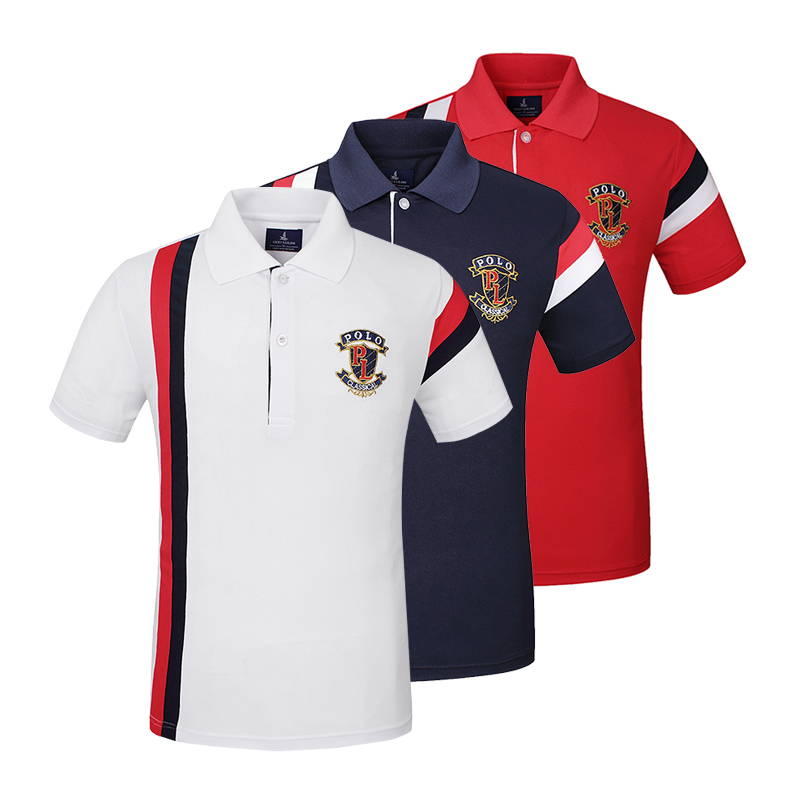 Men Anti-Pilling Quick Dry Breathable Cotton Golf Polo <strong>Shirts</strong> Wholesale