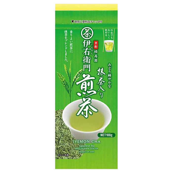 Japanese matcha blend carefully selected loose green tea leaves