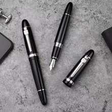 Ручка-перьевая Hero 1060, конвертер металлических чернил, тонкий наполнитель/черный наконечник, канцелярские товары, канцелярские товары, бизн...(Китай)