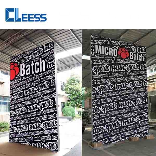 China Modular Frameless Backlit Exhibition <strong>Booth</strong> Design