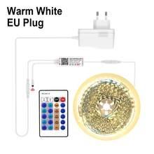 5050 12V светодиодные светильники для освещения шкафа WIFI RGB Декор cocina lampara Tuya/Smart Life APP LED свет Alexa Смарт шкаф лампа полоса(Китай)