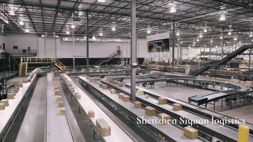 소포 페덱스, UPS, DHL 익스프레스 플라이어 중국에서 인도