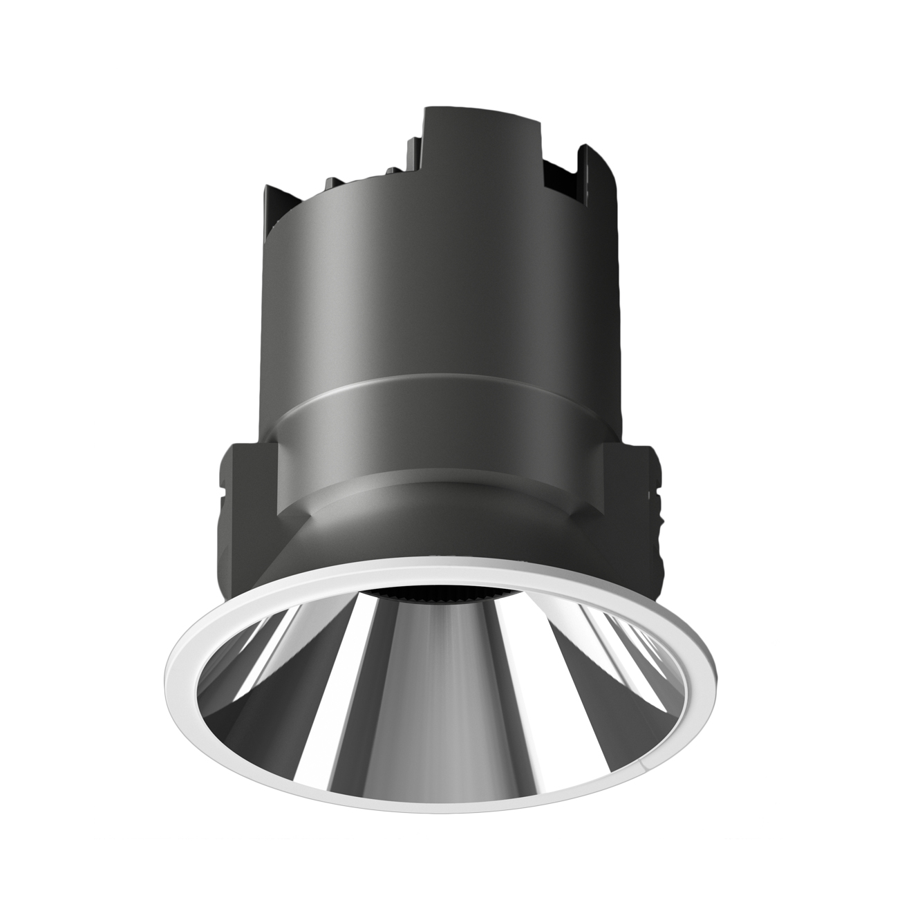 New design 7W focos recessed cost-effective easily change round and square led spot light