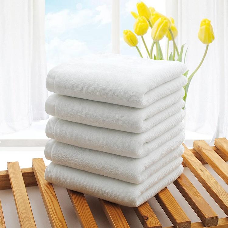 2018 Best Seller White Bath Towel Cotton for Hotel